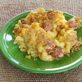 My Hot Diggity Dog Mac & Cheese