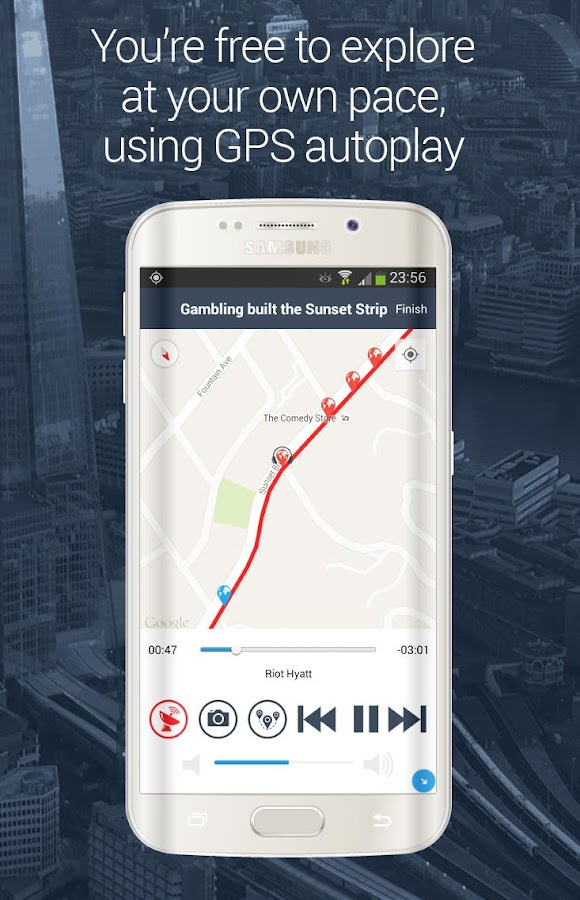 VoiceMap GPS Audio Tours with Offline Maps- screenshot