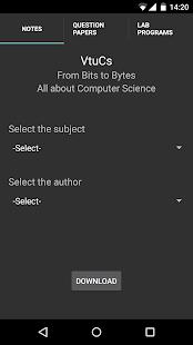 VtuCs | VTU CSE Study Material - AppRecs