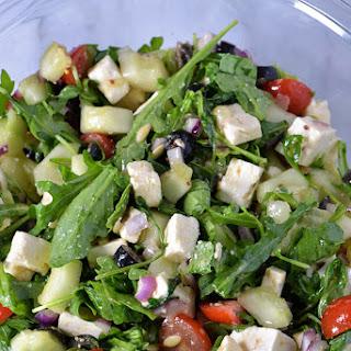 Arugula Greek Salad