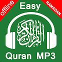 Easy Quran Mp3 Audio Offline Complete with Qibla icon