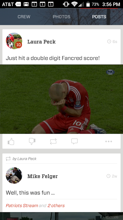Fancred - All Sports, All the Time- screenshot