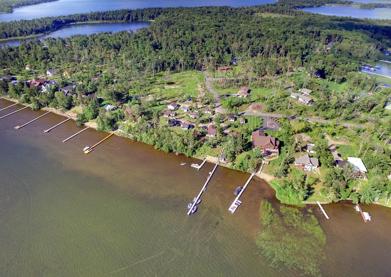 Sebago Resort drone 4