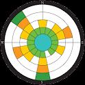 Wind rose (윈드로즈) icon
