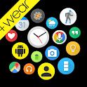 Bubble Widgets + Wear Launcher icon
