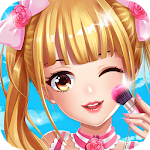 Anime Girl Dress Up Icon