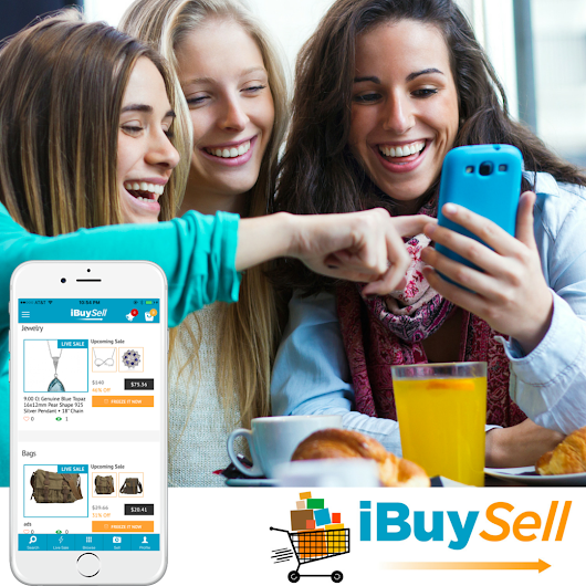 iBuySell - Live Auctions Without Any Bidding, Launches its App in iPhone, iPad, Android