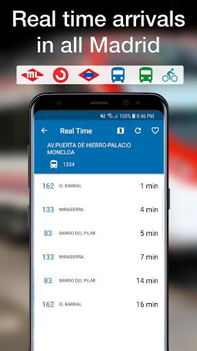 Madrid Transport screenshot 1