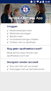 De Service Apotheek App- screenshot thumbnail