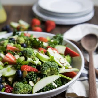 Summer Detox Salad with Citrus Basil Vinaigrette