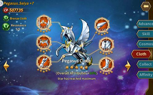 Saint Seiya: Galaxy Spirits v 1 0 Hack MOD APK (GOD MODE