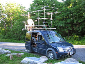 Photo: K8GP / Rover - FM19AW (looking SSW) - ARRL June VHF 2014