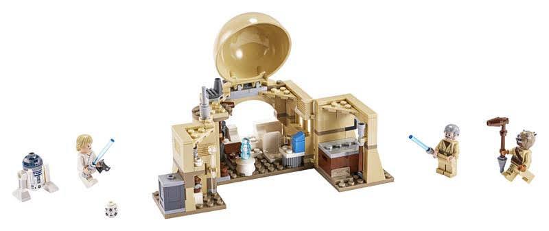 Contenido de Lego® Cabaña de Obi-Wan