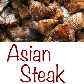 Asian Steak Bites.