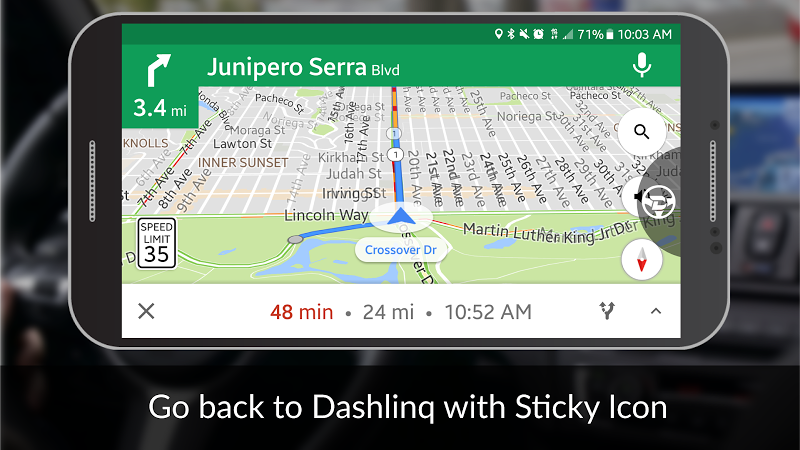 Dashlinq - Car Dashboard Launcher Screenshot 2
