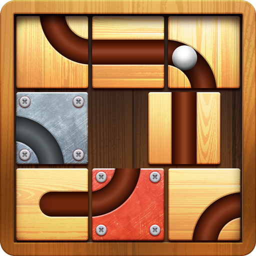 Block Puzzle- Ball Rolling
