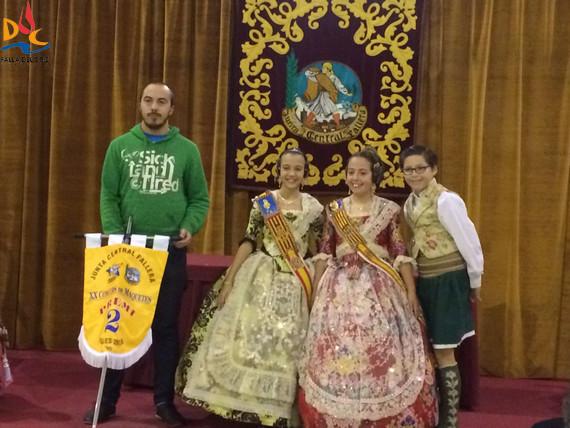 """XXI Concurso de Maquetas  2º Premio: Falla Duc de Gaeta-Pobla de Farnals. Lema: """"El mito de la crisis"""""""