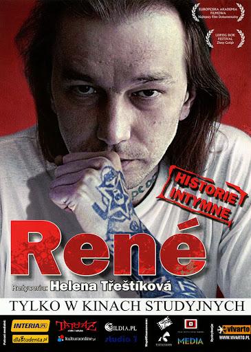 Przód ulotki filmu 'René'