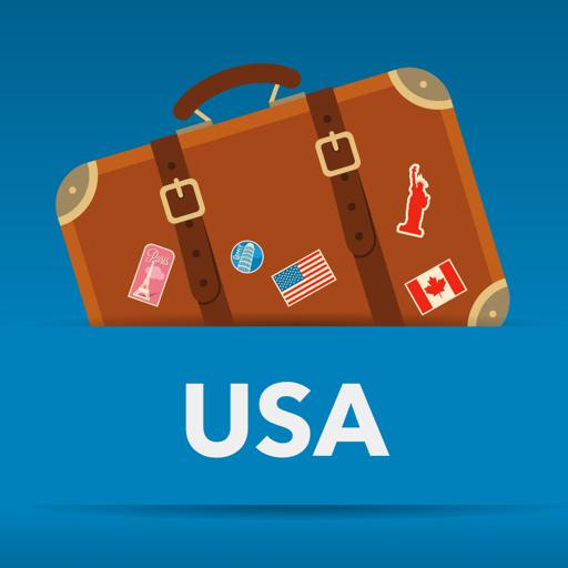 USA offline map
