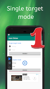 Auto Clicker – Automatic tap Mod Apk (No Ads + Full Unlocked) 2