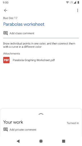Screenshot for Google Classroom in Hong Kong Play Store