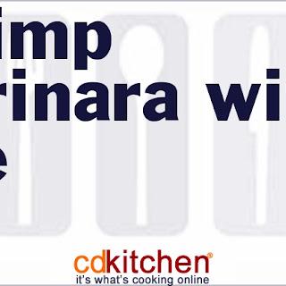Shrimp Marinara With Rice.