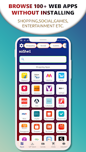 soShell – Made in India, All in One app Browser 2