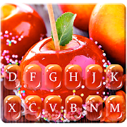 Free Red Donut Apple Keyboard Theme APK for Windows 8