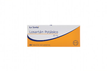 Losartán Potásico La   Santé 50Mg Caja x 30 Tabletas