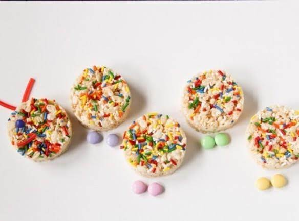 Rice Krispies Caterpillar Treats Recipe
