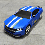 Real American Muscle Car Game Icon
