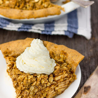 Deep Dish Apple Pie with Crumb Topping Recipe