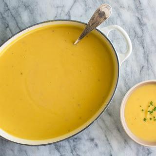 Cauliflower Cheddar Soup.