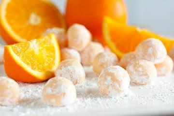 Orange Dreamcicle truffles!