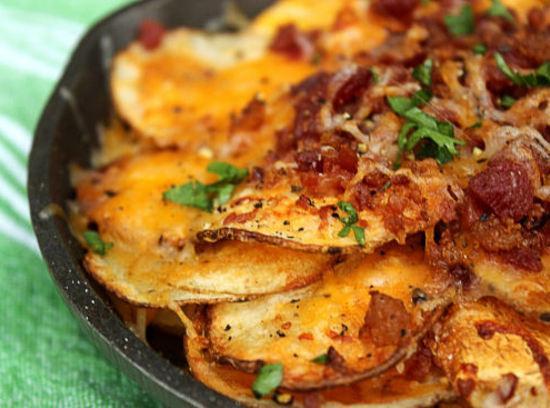 Loaded Potato Skillet Recipe