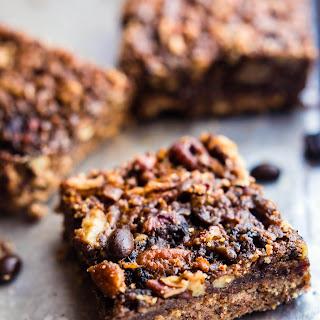 Vegan Coffee Pecan Pie Bars {Easy Paleo Recipe}