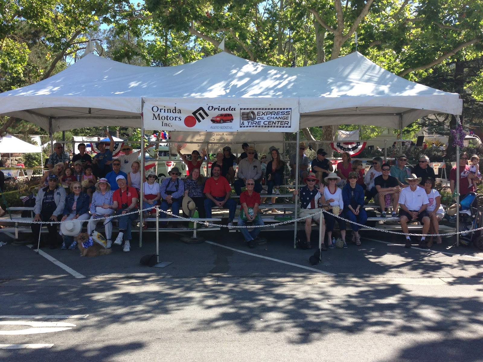 Join Orinda Motors for the July 4th Parade!