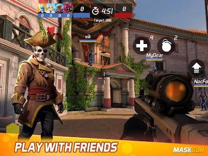 MaskGun Multiplayer FPS – Free Shooting Game For PC Windows 10 & Mac 10