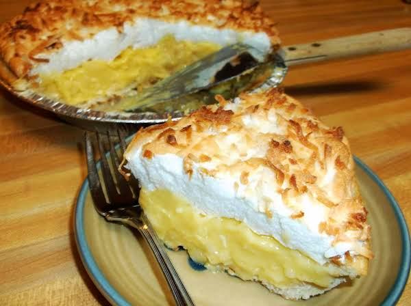 Coconut Cream Pie Recipe