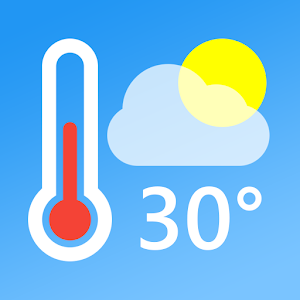 Temperature Today Weather Forecast Thermometer 1.0.7 (SAP) (Pro) by Jaya Zone Tech logo