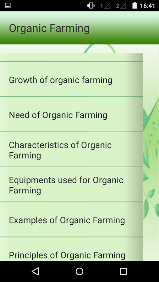 organic farming android apps on google play organic farming screenshot