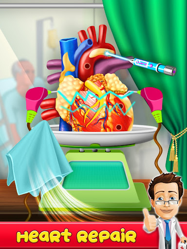 Heart  Surgery  Doctor  ER  hospital  Simulator 1.0 screenshots 3