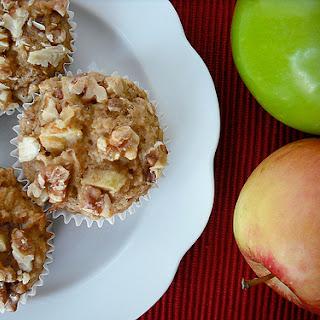 Apple Walnut Spice Muffins