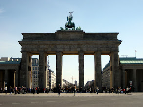 Photo: Das Brandenburger Tor