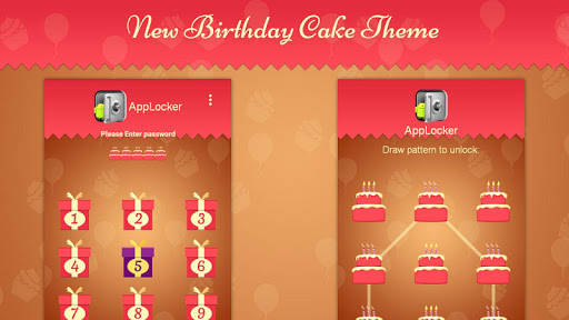 Cake Theme for Mega App Lock