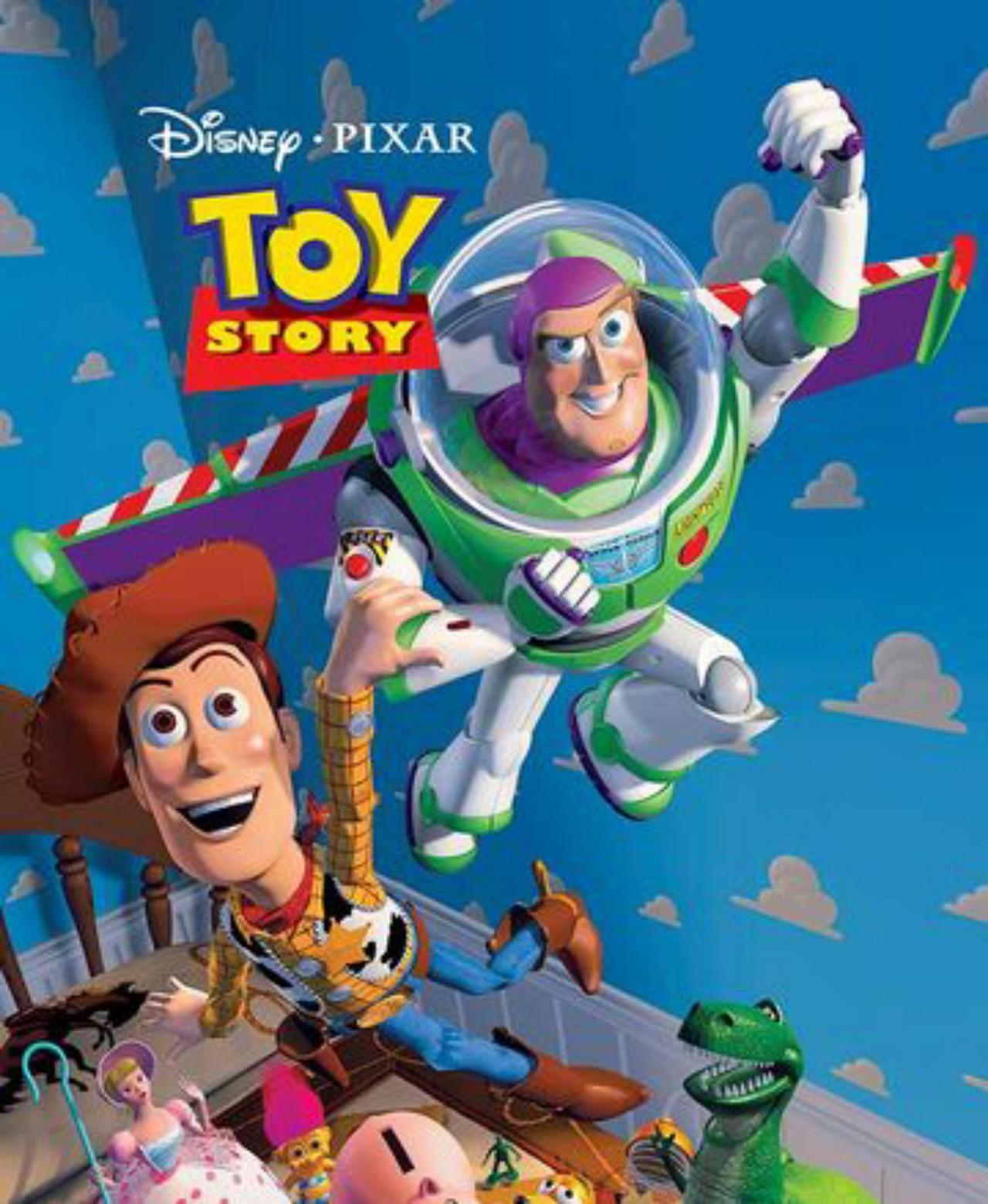 Buzz Lightyear and Sheriff Woody
