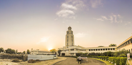 Photo: my last upload of the campus and the sunset seems an appropriate moment to say goodbye!
