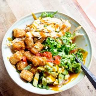 BBQ Chicken Tater Tots Salad