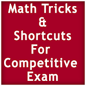 Math Tricks Competitive Exam