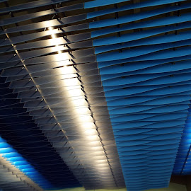 Celling lights by Donna Probasco - Abstract Patterns (  )